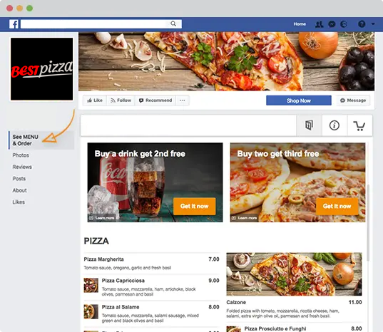 local-food-guide-ordering-app-facebook